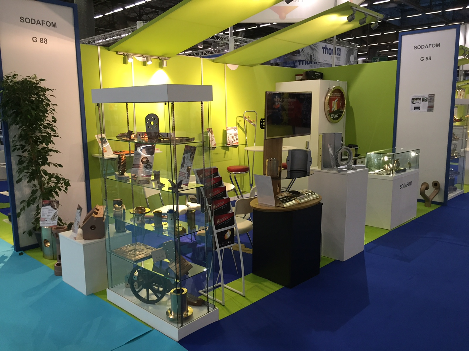 Stand Sodafom au Midest 2015